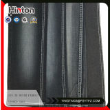 Black Color High Stretch Denim Fabric for Lady Jeans