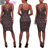 Wholesale Elegant Sexy Summer Lady′s Fashion Dress L36181