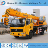 mobile truck with crane