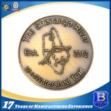 3D Antique Bronze Promotional Coin with Rope Edge (Ele-C050)
