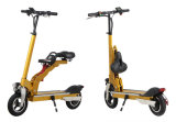 OEM Electric Two Wheels Standing Scooter with Folding Seat
