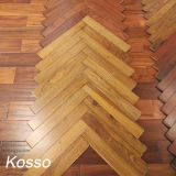 Wood Flooring Africa Kosso Hardwood Flooring Herringbone Parquet Flooring