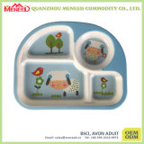 New Cartoon Design BPA Free Plastic Tray with Dividers