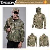 7 Colors Tactical Men Waterproof Camping Thin Sports Jackets Camouflage