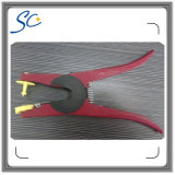 Red Aluminum Cattle Ear Tag Applicator for Animal Piler