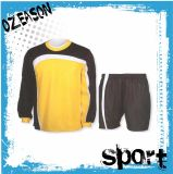 Full Sublimation Printing OEM Custom Soccer Football Goalkeeper Jersey