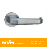 High Quality Stainless Steel Door Handle on Rose (S1013)