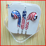 Wholesale Price Headset for iPhone 5s Earphone with Mic and Volume