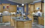 Maple Solid Wood Kitchen Cabinet Wooden Kitchen Cabinet (JX-KCSW025)