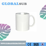 11oz Two-Tone Color Sublimation Blanks Promotion Ceramic Coffee Mug Silver