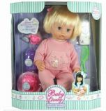 "14"" Baby Girl W/Ic(Include 3pcs Cell Batteries) (KS3671)"