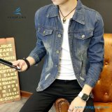 Fashionale Contracted Men Cotton Long Sleeve Denim Jackets by Fly Jeans