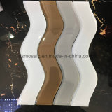 Newest S-Shape Glass Mosaic Tile (GLass Brick)