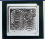 Building Material House Decoration Tempered Glass Block (Sea wave)