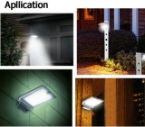Solar Power Motion Sensor Garden Wall Lamp