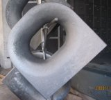 Marine Deck Equipment Bollard Double Bitts Chock