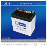 Lead Acid with Mf Battery Dry Charged Battery DIN50