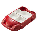 100% Melamine Dinnerware - Kid′s Series Children Car Tableware/ (QQ19903s) Kid′s Dinnerware