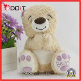 Suffed Teddy Bear Plush Teddy Bears with embroidery Paw