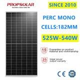Trustworthy A Grade Perc Photovoltaic Monocrystalline 540W PV Cell Energy Power Solar Panel Modules