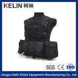 Matte Black Tactical Vest for Militray Equipment