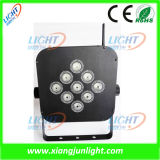 9 X10W Rechargeable LED PAR Light