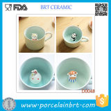 Bestselling Elegant Porcelain Mug Cup with Little Animal