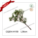 L38cm Plastic White Decorative Christmas Tree Branch Christmas Decoration