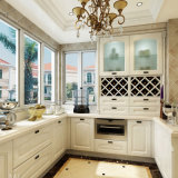 Welbom American Style Solid Wood White Kitchen Cabinet