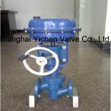 Pneumatic Fluorine Lined Single Seat Control Valve with Handwheel