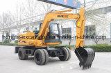 10t Wheel Excavator Manufacturer