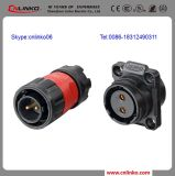 2 Pin Wire Plug Power Cable Waterproof Connector