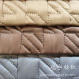 Home Textile Quilting Fabric with Sponge Inside for Sofa