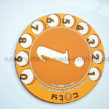 Custom Soft PVC Rubber Glass Pad for Souvenirs Gift