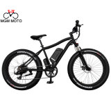 48V 500W 26′ Retro Beach Cruiser Fat Mountain Electric Bike