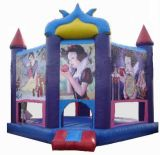 Inflatable Jumping Castle with Princess Printing