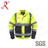 2015 High Quality Polar Fleece Reflective Safety Wear Jacket (QF-519)