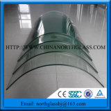 Curved Clear Tempered Glass Bent Clear Toughened Glass