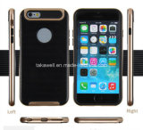 Slim Fit Hybrid TPU+PC Cell Phone Case for iPhone 6 Mobile Cover Case