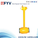 Full Welded Buried Long Arm Fixed Ball Valve