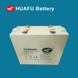 Huafu 2V800ah Solar System Battery Power Station Battery
