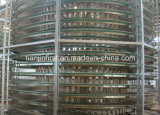 Hamburger Toast Bread Cooling Tower Spiral Cooler Spiral Cooling Tower