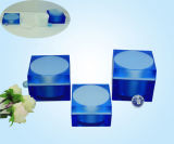 Square Acrylic Cream Jar and Ailess Pump Bottle (H1017/H3303)