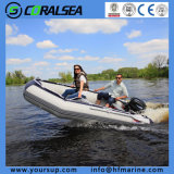 Foldable PVC/Hypalon Inflatable Rubber Fishing Inflatable Boats