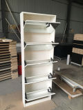 Five Drawers Shoe Rack with Mirror