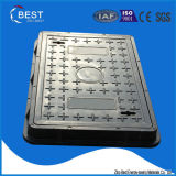 600X400mm BMC Replacement Streetlight Manhole Cover and Frame