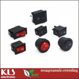 Taiheng Electrical Lighted Kema Rocker Switch 6A 10A 15A 16A 12V 125VAC 250VAC R11 3 4 6 Pins T85 T125 T120 Kcd 3 4 UL CE RoHS