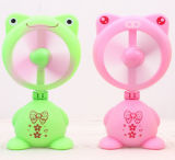 Promotional Gift for Rachargeable Mini Fan in Frog Shaped