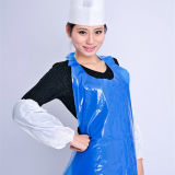 Cleaning HDPE Apron Disposable Poly Apron Polyethylene Blue Apron