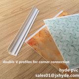 Double V PVC Corner Clips PVC Profile Panel Install Accessories (RN-18)